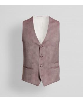 Laurent Bordeaux Waistcoat