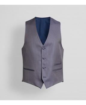 Laurent Blue Waistcoat