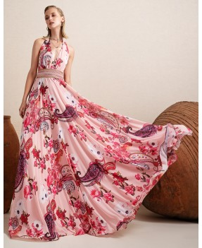Riana Long Dress